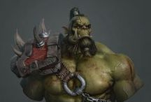 Orcs / Just us Orcs here