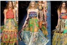Fashion - Bohemian clothes / Bohemian fashion