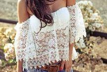 Fashion - Lace & Crochet / Beautiful lace and crochet dresses