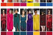 Fashion - Color trends / key color trends