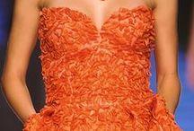 Fashion - Tangerine, Orange / tangerine tango, orange