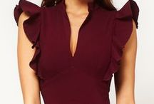 Fashion - Marsala / marsala the color of the year 2015