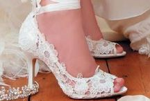 Fashion - Shoes - Wedding / wedding shoes, bride shoes, white shoes