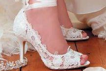 Fashion - Shoes - Wedding / wedding shoes, bride shoes, white shoes