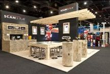 Trade Show Inspiration / Get noticed at your show with these trade show booth designs.