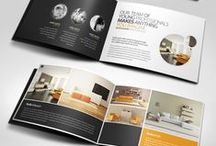 Brochure Inspiration / Get ideas for your marketing material with these #brochure design inspirations