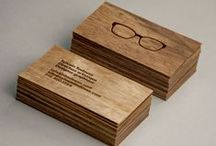 Business Card Inspiration / Stand with a uniquely designed #businesscard