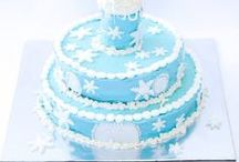 Frozen Ice Princess Party / This party pack comes with everything you need to make a frozen ice princess party. This design would lovely with any figurines or dolls your little one has