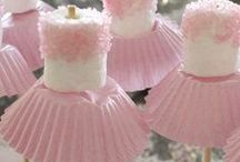 Ballerina Party / What little girls doesn't love sparkles and pink? I love the ballerina theme. There is so much you can do for it and it is stacks of fun.