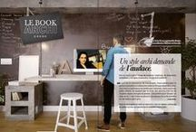 Book Archi / Un style archi demande de l'audace ! Que ce soit à travers l'usage de nouveaux matériaux, de dimensions inattendues ou de lignes inhabituelle, le style archi surprend !
