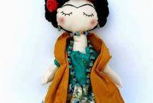Rag dolls Frida Kahlo