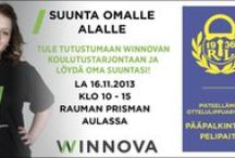 WinNova tapahtumia ja muuta / WinNovassa tapahtuu ympäri Satakuntaa ja Vakka-Suomea.