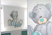 Onze muurschilderingen | Atelier de groene ballon / Wij zijn gespecialiseerd in het maken van muurschilderingen voor kinderkamers, kinderdagverblijven, en BSO's. Ga voor meer informatie en prijzen naar onze site: www.groeneballon.nl