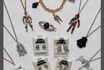 Vintage Jewelry / Vintage Star Wars jewelry and accessories for women http://www.thekesselrunway.com/