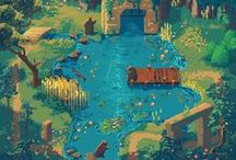 Game - Maps & Design / 2D Game Maps