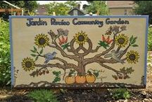 Garden Signs / Beautiful signs from community gardens all over Minneapolis and St Paul.