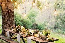 Country Wedding Ideas / Ispirazioni e idee per matrimoni bucolici in stile farmer's #FarmWedding