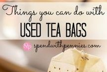 Other Clever Uses for Tea Bags / Tea bags are useful for so many things besides making tea!