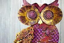 Mixed Media-Arte / Explore Mixed Media Projects using ColourArte mixed media paints www.colourarte.com
