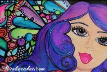 Rita Barakat /  When all the other little girls were playing with dolls I was cutting pasting, drawing and painting! Lucky me, my mama kept well stocked in arts and crafts supplies! I hope you find encouragement, a little whimsy, something pretty or at least something to make you think. I believe we need to be thankful for what we have and focus on the positive! Please visit my site RitaBarakat.com