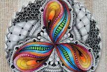 Zentangles-Doodling / Inspiring Zentagle art