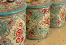 Tea Caddies and Containers