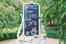 Bridal Tea Inspiration / Ideas for the perfect Tea Themed Bridal Shower