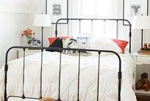 interior design: bedrooms / inspiring bedrooms + places to sleep