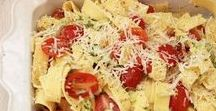 Pasta Recipes / All natural foods that taste great