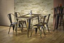 ATYLIA ♥ Indus' / Esprit loft, style factory, on aime l'alliance du bois brut & du métal ! Découvrez notre sélection meubles et déco 100% indus' !