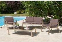 ATYLIA ♥ Outdoor / Cette année c'est décidé, vous aménagez votre terrasse et votre jardin ! Etre confortablement installé dans un fauteuil de jardin pour regarder les fleurs pousser ou dans une chaise longue ou un transat pour prendre un bain de soleil, ça c'est le programme idéal ! Découvrez notre sélection Outdoor : salon de jardin, barbecue, plancha, parasol et voile solaire, brumisateurs ...
