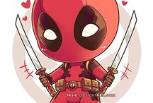 Deadpool / Probably only spideypool… (/)*3*)/)