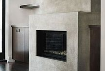 Fireplace / Modern fireplaces
