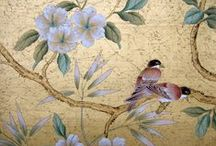 chinoiserie... / disclaimer:  these pics are for reference only.  these pics do not belong to me unless otherwise noted. / by Karen Beck