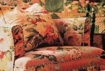 Slipcovers, Pillows, & Such / Cottage, quilt, shabby chic, romantic, vintage, antique, white slipcovers and pillows