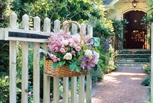 Welcome / Welcoming front doors, entries, and porches
