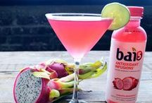Bai Cocktails / Add some extra flavor to your next cocktail and get creative with Bai5.