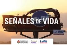 """Señales de Vida / """"Señales de vida"""", se llama la iniciativa conjunta entre el Ministerio de Seguridad del Gobierno de Córdoba y La Voz del Interior , en la que se busca generar una campaña de concientización vial para que los conductores no ignoren, jamás, las señales de tránsito. / by LAVOZcomar"""