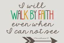 Walk with God...... / Faith