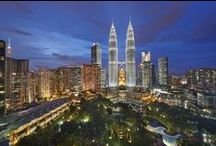 Destination: Kuala Lumpur / Set between the flowering gardens of the City Centre Park and the dramatic heights of the Petronas Twin Towers, Mandarin Oriental, Kuala Lumpur enjoys a wonderful central location.  / by Mandarin Oriental Hotel Group
