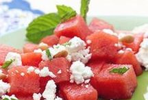 Refreshing Summer Recipes / Cool, refreshing, delicious.