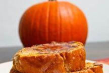 Pumpkin/Fall recipes / by Trish Fox Nunley