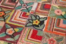 Under Foot / Rug Making Ideas, Rag Rugs, Hooked Rugs