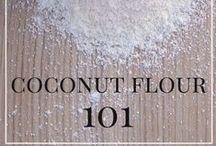coconut flour recipes / by Trish Fox Nunley