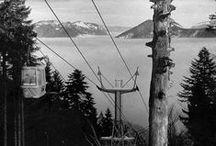 History of skiing and hiking in Liptov