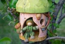 Elf, fairy houses