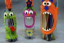 Brinquedos e atividades criativas