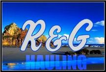 """Waste Removal ~ / R&G Hauling ~ """"Rob & Ginger"""" ~ SoCal since 1993 ~ 626.301.0994. junk,trash.waste.debris,recycle service"""