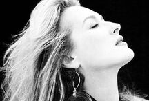 Streep / Love Streep! Woman of million faces and the most fascinating beauty.