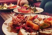 Pintxos / We love Pintxos!! We have them beautiful and available for just $1 Sunday from 6pm to Thursday Lunchtime then just $2 at all other times!